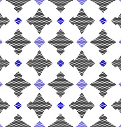 Dot textured pattern with gay and blue vector