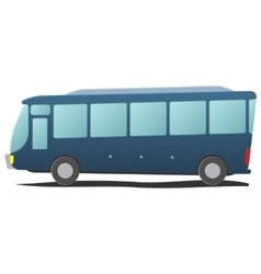 Bus public transportation cartoon vector