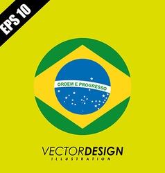 Flag icon design vector image vector image