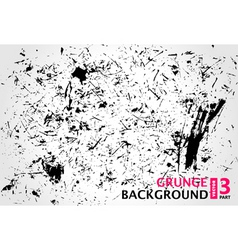 grunge background scratches stain old vector image vector image