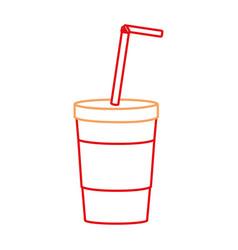 Isolated soda design vector