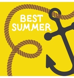 poster summer vector image