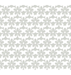 Lacy seamless pattern with flowers vector
