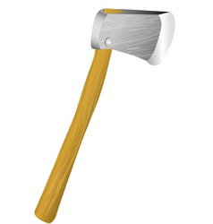 Lumber axe vector
