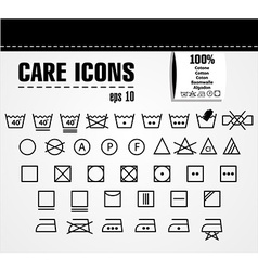 Care icons vector