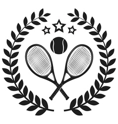 Set of tennis badge logo templates t-shirt graphi vector