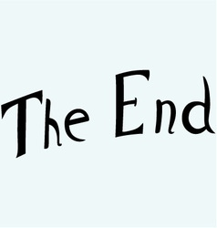 The end symbol vector