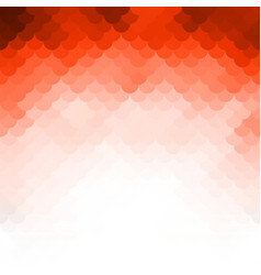 abstract orange light template background vector image vector image