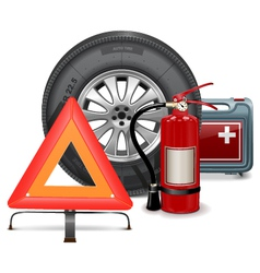 Car Parts Consept vector image
