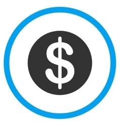 Dollar Coin Icon vector image
