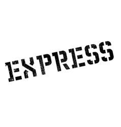 Express stamp rubber grunge vector image vector image