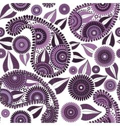 Oriental bright ornate seamless pattern vector image