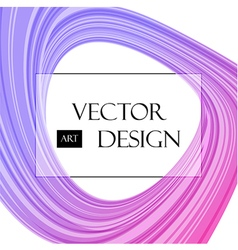 Purple abstraction on white vector