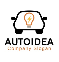 Auto idea design vector