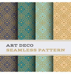 Art deco seamless pattern 06 vector