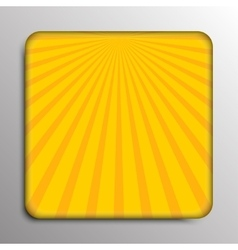 background Solar yellow rays Eps 10 vector image vector image