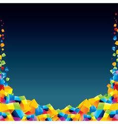 modern empty background vector image vector image