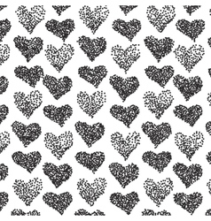 pattern Casual stipple polka dot texture vector image