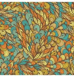 Seamless floral vintage summer pattern vector image