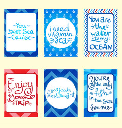 set of banners cards and flyers card templates in vector image