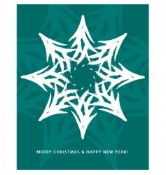 greeting card Christmas vector image