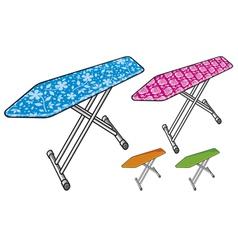 ironing board vector image