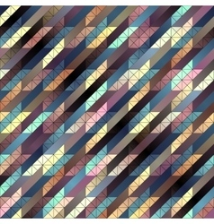 Houndstooth pattern on black background vector