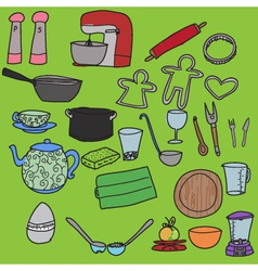 Kitchenware vector
