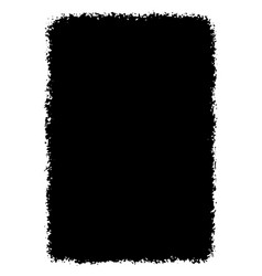 grunge black and white texture hand drawn vector image vector image