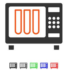 Sterilizer flat icon vector