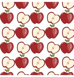 Red apple isolated vector