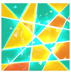 Stained glass vector