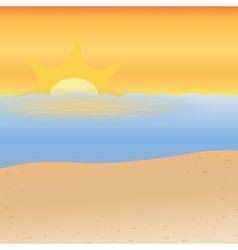Sea background beach design graphic vector