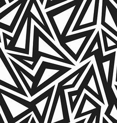 african monochrome seamless pattern vector image vector image