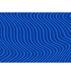 Blue Striped 3D Texture vector image vector image
