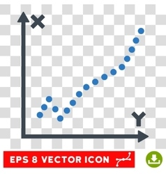 Function plot eps icon vector