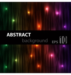 Abstract striped glowing background with red blue vector