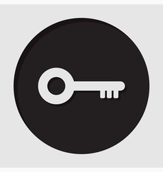 Information icon - key vector