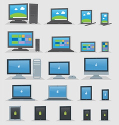 OS Devices vector image