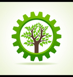 Tree inside the gear vector