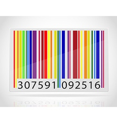 barcode 08 vector image vector image