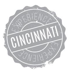 Cincinnati stamp rubber grunge vector