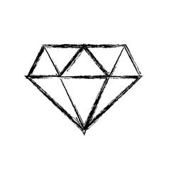 Figure beauty luxury diamond gen accessory vector
