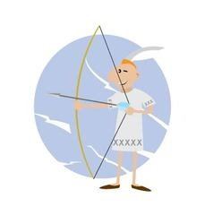 American Indian archery vector image