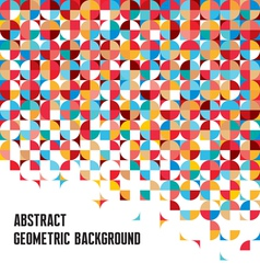 Abstract geometric background - creative design vector