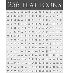 flat icons 02 vector image