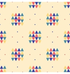 Geometric seamless pattern ethnic textile minimal vector