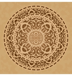 oriental decoration vector image vector image