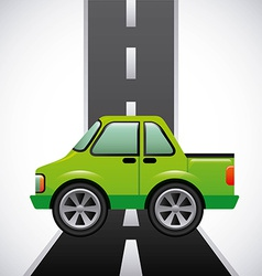 Road highway vector