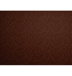 Brown leather stock vector